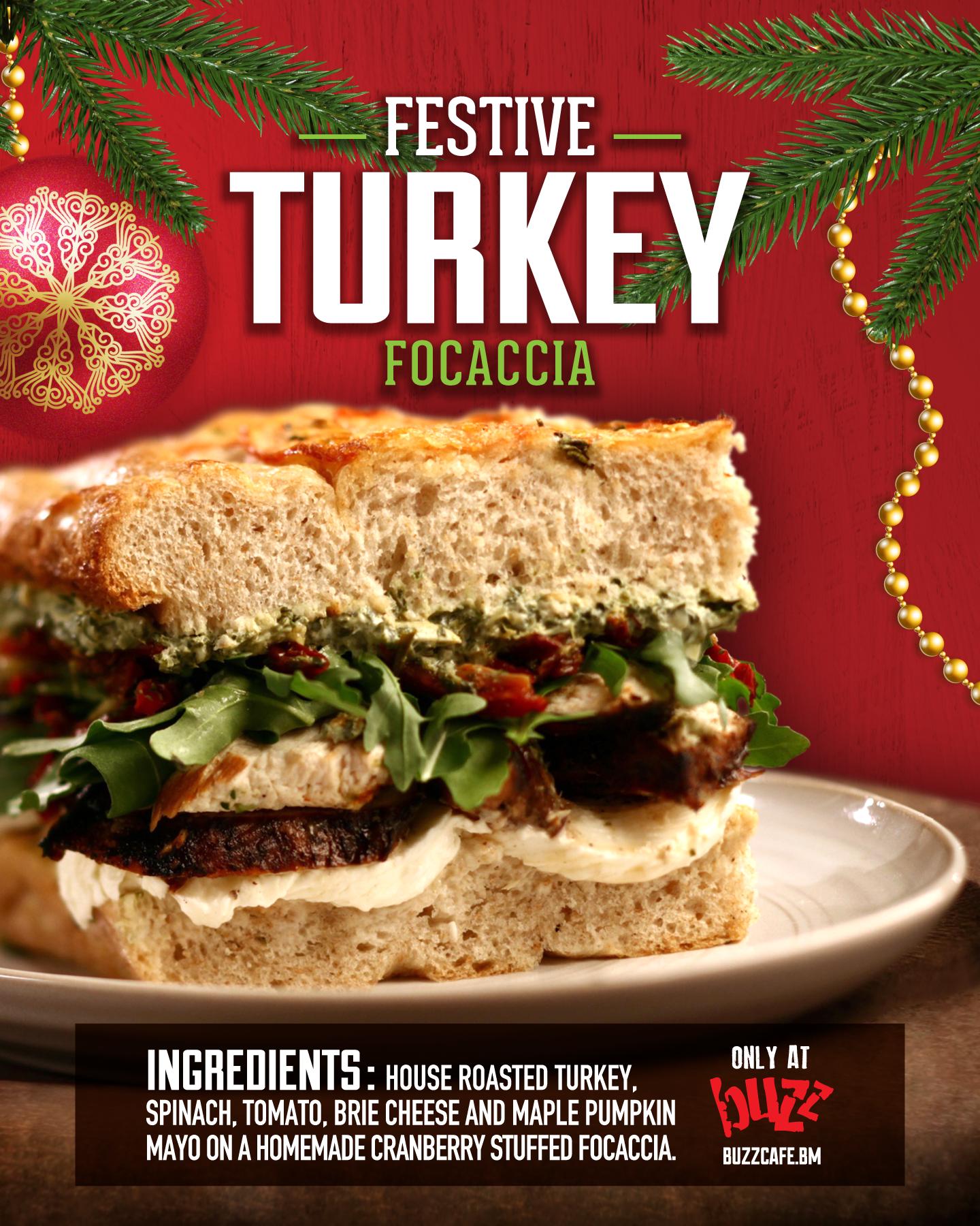 turkey sandwich web - Menu